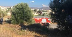 Συναγερμός για φωτιά στο Μακρύ τοίχο (φωτο)