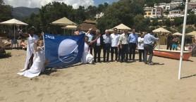 Επτά γαλάζιες σημαίες στις παραλίες του Δήμου Μαλεβιζίου