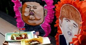Burger με τον Κιμ Γιονγκ Ουν και τάκος με Τραμπ (φωτο)