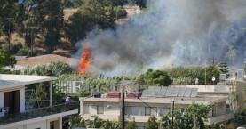 Μια σύλληψη απο την Πυροσβεστική για την φωτιά στο Μακρύ Τοίχο