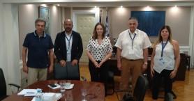 Με την Υφυπουργό Οικονομικών συναντήθηκαν στην Αθήνα μέλη του ΣΑΔΧ