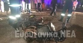 Δύο νέοι νεκροί σε μετωπική μηχανών στο Καρπενήσι