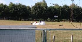 Άνδρας αυτοκτόνησε με εκρηκτικά στο κέντρο γηπέδου ποδοσφαίρου