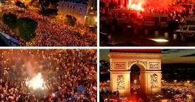 Γάλλοι τραυματίστηκαν πανηγυρίζοντας τη νίκη της ομάδας τους στο Μουντιάλ