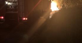 Φωτιά ξέσπασε κοντά στη ΔΕΥΑΒΑ στο Γεράνι Χανίων (φωτο)