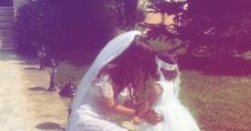 Η Κρητικιά δημοσίευσε φωτογραφίες από το γάμο και τη βάπτιση της κόρης της
