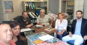 Συνάντηση του συλλόγου εργαζομένων ΓΝΑΝ με τον Γ. Αϊβαλιωτη