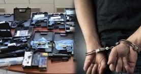 Χιονοστιβάδα οι συλλήψεις για το κύκλωμα εμπορίας όπλων στην Κρήτη