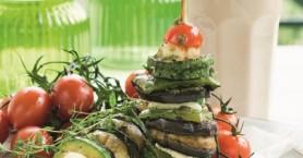 «Όρθια» σουβλάκια λαχανικών