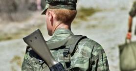 Επαγγελματίας οπλίτης αυτοτραυματίστηκε σε στρατόπεδο στην Μυτιλήνη