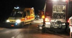 Τροχαίο ατύχημα τα ξημερώματα στον Αποκόρωνα Χανίων