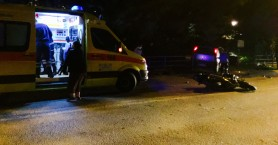 Στην Εντατική του Νοσοκομείου, Χανιώτης οδηγός μοτοσικλέτας