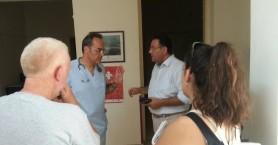 Περιοδεία κλιμακίου του ΚΚΕ σε Μοίρες, Πόμπια