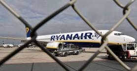 Ματαιώνει 190 πτήσεις η Ryanair λόγω απεργίας του προσωπικού της