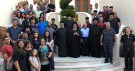 Αγιασμός στην σχολή Βυζαντινής μουσικής της Ι.Μ. Ρεθύμνης & Αυλοποτάμου