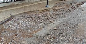 Μεγάλες ζημιές από τη βροχή στη Νέα Χώρα στα Χανιά