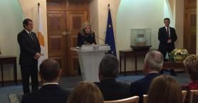 Κύπρος: Ο Πρόεδρος Αναστασιάδης τίμησε την Μαριάννα Βαρδινογιάννη