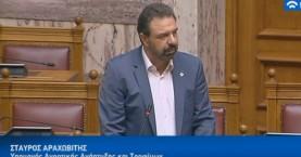 Συζήτηση στην Βουλή για μειονεκτικές περιοχές, βοσκότοπους και επιδοτήσεις