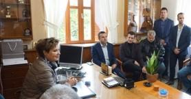 Συνάντηση της Ένωσης Αξιωματικών ΕΛ.ΑΣ. Κρήτης με την Όλγα Γεροβασίλη