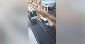 Γέμισε νερά η λεωφόρος Κουντουριώτη στο Ρέθυμνο (βίντεο)