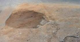 Λακκούβα κίνδυνος – θάνατος στα Χανιά  (φωτο)