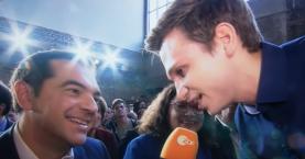 Αμήχανο γέλιο η απάντηση Τσίπρα σε προσβολή κατά της Ελλάδας (βίντεο)