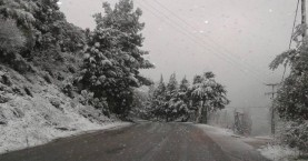 Έρχονται χιόνια, βροχές, ισχυροί άνεμοι και πτώση θερμοκρασίας στην Κρήτη