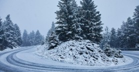 Χιόνια και στην Κρήτη την επόμενη ημέρα των Χριστουγέννων
