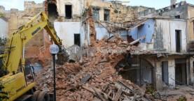 Παρελθόν πλέον τα κτίρια στη Σήφακα στα Χανιά (φωτο - βίντεο)