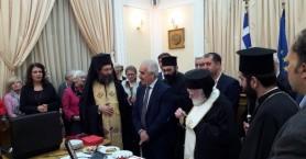 Πλήθος κόσμου στην κοπή πίτας της Περιφέρειας Κρήτης