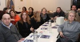 Έκοψαν την πίτα τους οι εθελοντές του Δήμου Ηρακλείου