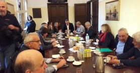 Παρουσία του Σωκράτη Φάμελλου σύσκεψη για την λειψυδρία στην Κρήτη
