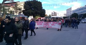 Στους δρόμους οι εκπαιδευτικοί και στα Χανιά (φωτο)