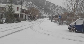Το έστρωσε το χιόνι στον Ομαλό – Τι αναμένεται τις επόμενες ώρες στην Κρήτη