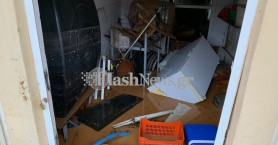 Πλημμύρισε υπόγειο σπιτιού στον Φουρνέ - Ο Κερίτης ποταμός κατέστρεψε δρόμο