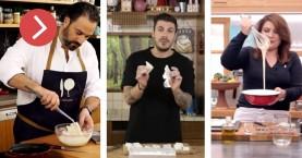 Μπακαλιάρος τηγανητός: Πώς τον φτιάχνουν ο Λουκάκος, ο Άκης και η Αργυρώ (βίντεο)