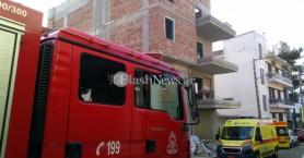 Εργάτης έπεσε σε φρεάτιο οικοδομής στα Χανιά (φωτο)