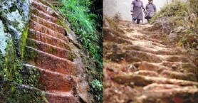 Έσκαψε 6.000 σκαλοπάτια στο βουνό για χάρη μιας γυναίκας!