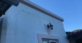Συνεχίζεται η καθίζηση σε χωριό του Πλατανιά - Δρόμοι καταρρέουν, σπίτια εμφανίζουν ρωγμές