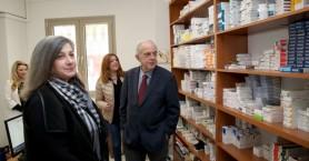 Επίσκεψη Δημάρχου Ηρακλείου στο Κοινωνικό Φαρμακείο