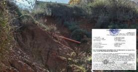 Συνήγορος Πολίτη για κατολίσθηση οδού Μαλινδρέτου: Κακοτεχνίες και «μπαλάκι» αρμοδιοτήτων