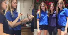 Μαθήτριες λυκείου ανακάλυψαν καλαμάκι που εντοπίζει το χάπι του βιασμού