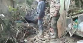 Συγκλονίζουν οι εικόνες από τα Παλαιά Ρούματα μετά την κακοκαιρία (βιντεο)
