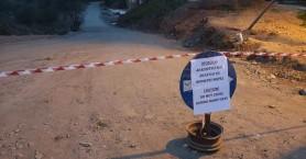 Κλείνει ο πρόχειρος δρόμος που έφτιαξαν κάτοικοι στον Αλικιανό λόγω επιδείνωσης του καιρού