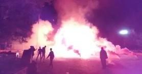 Εντυπωσιακό κάψιμο του Ιούδα στο χωριό των Καθιανών (φωτο)