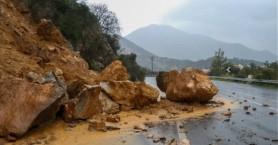 Ζημιές και στην Κίσσαμο από την κακοκαιρία - Που είναι κλειστοί οι δρόμοι