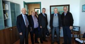 Στον ΟΛΗ το Δ.Σ. τα μέλη της Ένωσης Εφοπλιστών Κρουαζιερόπλοιων