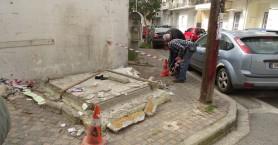 Απομακρύνθηκε ανενεργό περίπτερο στην οδό Γκερόλα