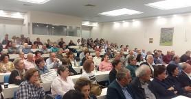 Πλήθος κόσμου στην εκδήλωση της νομαρχιακής επιτροπής του ΣΥΡΙΖΑ (φωτο+βιντεο)