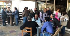 Γρηγόρης Αρχοντάκης και Νάνσυ Αγγελάκη στην δημοτική ενότητα Ελευθερίου Βενιζέλου